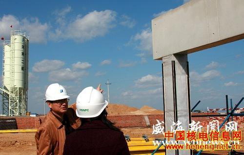 """""""石岛湾核电站主体工程开工,标志着日本福岛核事故后,中国重启核电"""