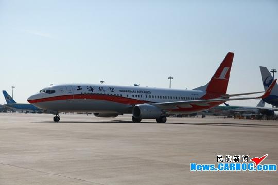 春运又添新运力上航喜迎波音737