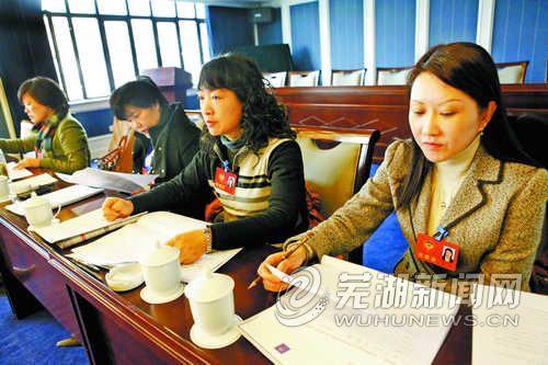 政协委员分组讨论选举办法、会议决议等草案_