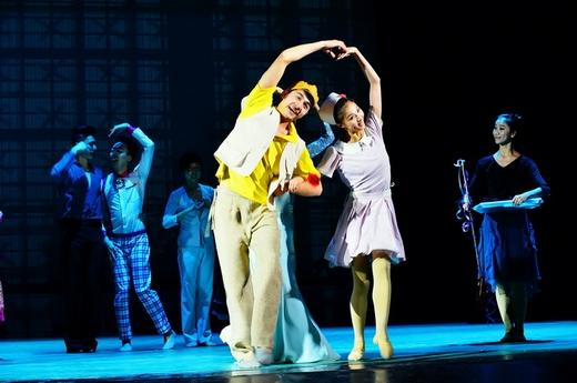 戏曲人物手绘跳舞动作