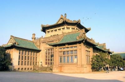 武大老图书馆手绘