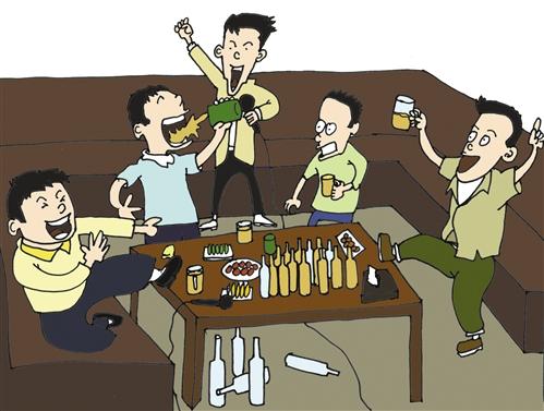 老梁说同学聚会-5天参加3场同学会 花去1000元压岁钱
