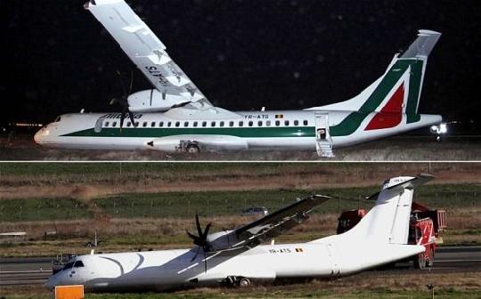 意大利航空将事故飞机涂白被指企图掩盖痕迹