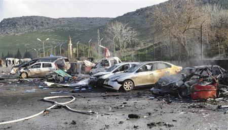 叙反对派宣称夺取最大水电站 土叙边境汽车爆炸13人死亡