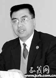 资料图:崇州市反贪局局长柯建国