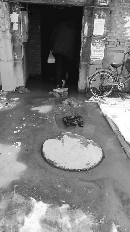 污水倒灌3个月无人管小区居民生活苦不堪言