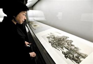 台北故宫博物院展出 《近现代书画名品展》
