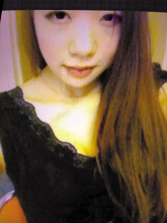 失踪女孩是大四学生