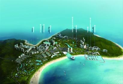 发展的半山半岛  三亚蔚蓝海洋梦