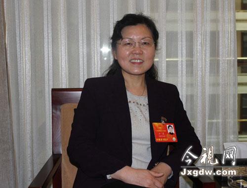 全国人大代表、阜阳师范学院外国语学院副院长卢凌