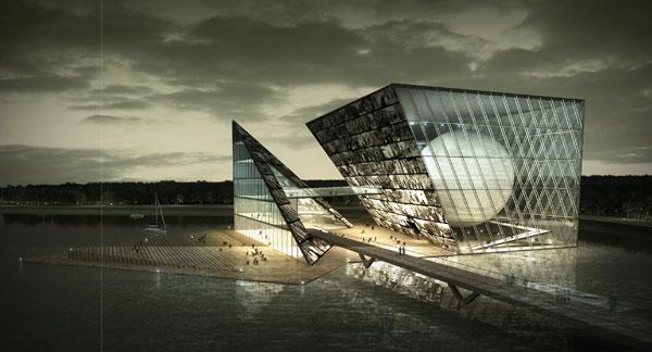 中国摄影博物馆概念性设计方案之五排版酒店设计图片