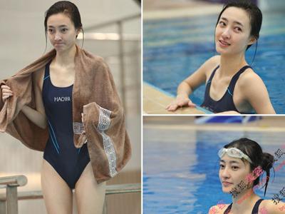 王丽坤被封素颜女神 跳水女星素颜真容谁更美?