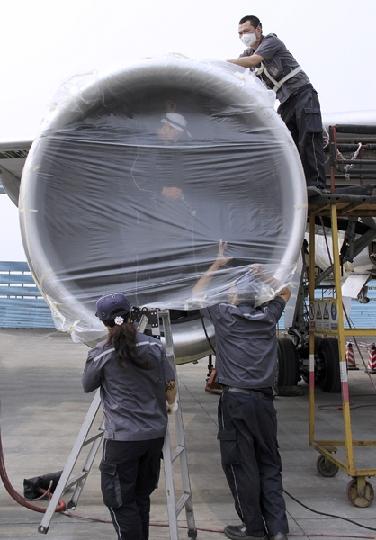 国航成都维修基地飞机大修部抗震减灾侧记