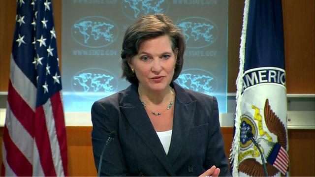 美国国务院发言人纽兰称,美国致力于通过外交渠道解决朝核危机。