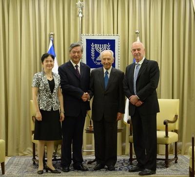 中国驻以色列大使的行政级别,据说驻以色列前大使赵军