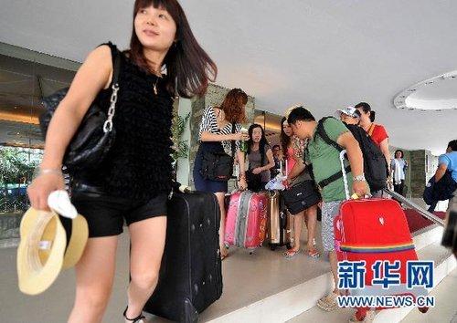 中国旅行团(资料图片)
