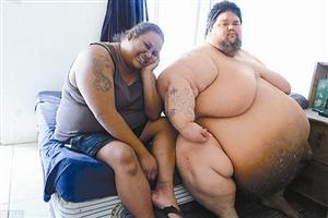 美国800斤胖子拍减肥真人秀