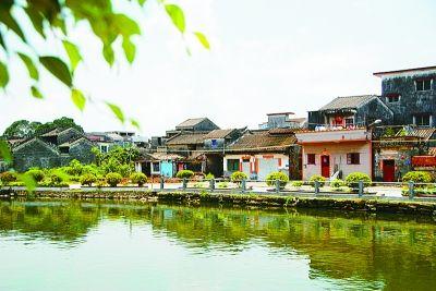 赵氏宗族后裔村——江门霞路村。