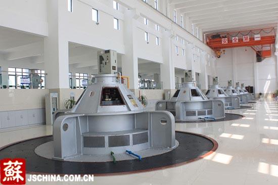 泗阳站工程主厂房