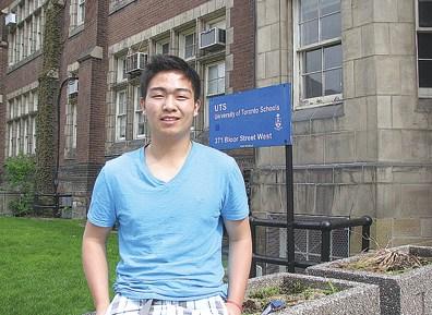 加拿大华裔角逐全球高中生英语演讲赛 偷师奥