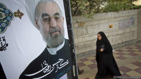 据初期点票结果显示,伊朗前首席核谈判代表鲁哈尼的得票率处于领先地位。