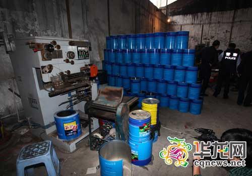 南京警方破获一起特大跨省销售假冒品牌油漆案