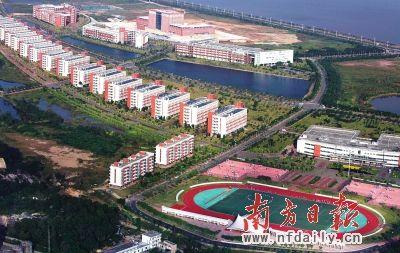 目前,珠海在校大学生规模及院校数量均居全省第二.图为吉林大学珠