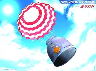 飞天经典镜头回放 时间:6月11日下午 地点:酒泉卫星发射中心圆梦园