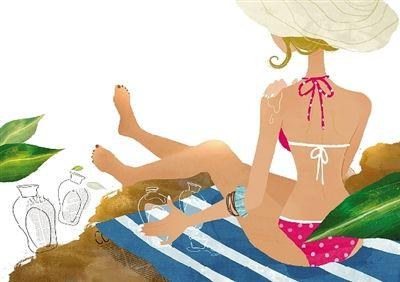 头像 女生海边侧面戴帽
