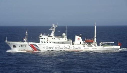 日本称将继续警戒中国海警船