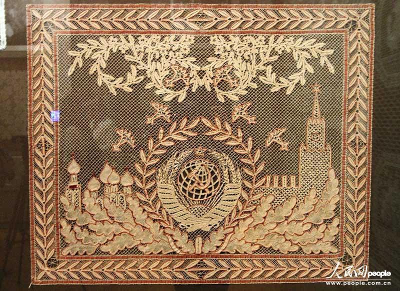 俄罗斯的花边纺织品之乡