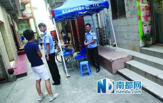 黄贝岭执勤岗亭附近站街女大白天拉客图片