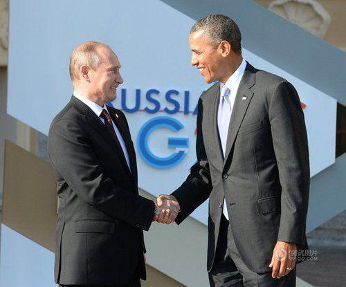 普京称若叙遭打击将施援手 会晤奥巴马分歧难
