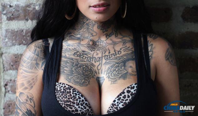 伦敦纹身大会:美丽奇异的身体世界