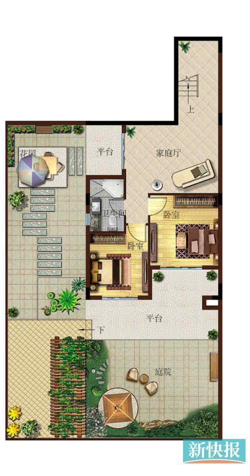 小面积别墅设计图展示