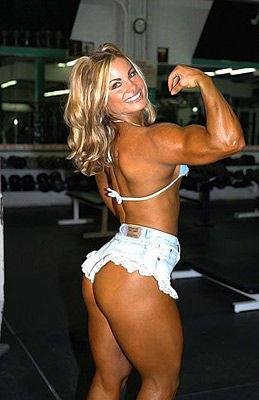 女生健美怎么长肌肉