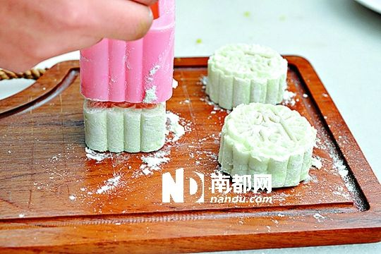 中秋节下午带宝宝来diy月饼