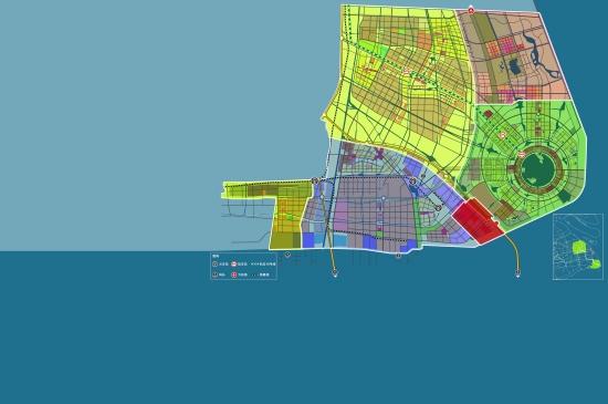 州 湾 主城区上海临港海洋高新技术产业化基地重装备产业区和物流园区图片