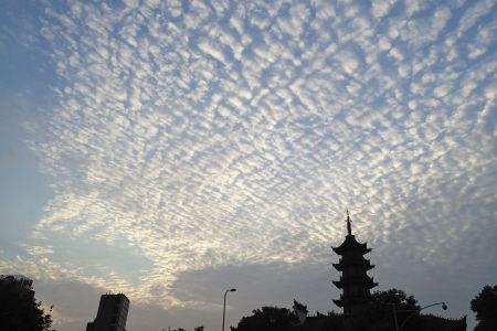透光高积云-滚轴云,透光高积云会怎么样,乳状云
