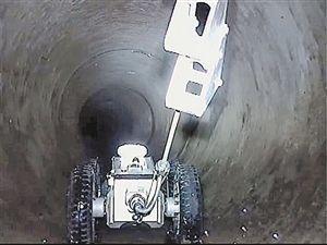 地陷克星,管道机器人带我们窥探地下