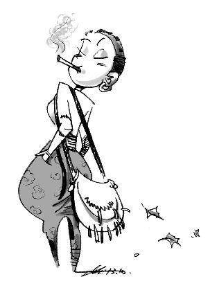 长裙子简笔画步骤图解