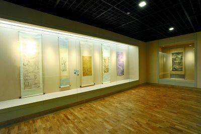 """艺术馆""""古代绘画展""""展厅"""
