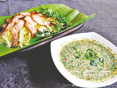 瑞丽美食勐卯宴赏环境风情品美食文化园林法罗群岛图片