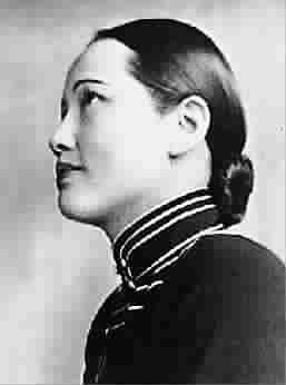▲ 1933年宋庆龄在上海