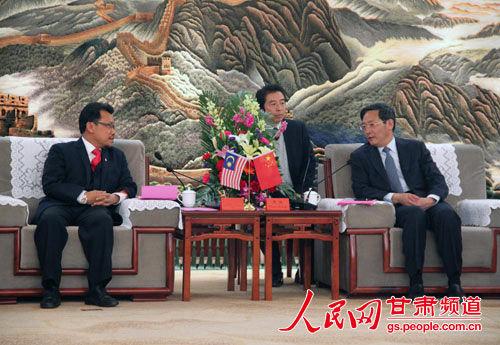 代表团参访甘肃临夏回族自治州
