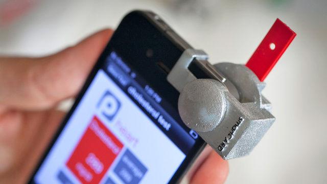 智能手机胆固醇传感器
