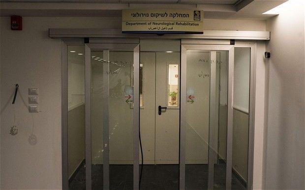 沙龙所在的以色列一家医院。