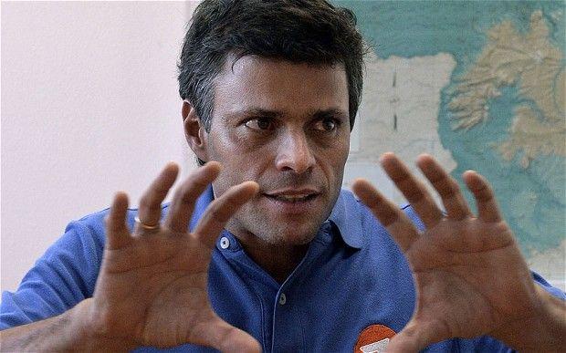 委内瑞拉反对派领导人洛佩斯。(图片来源:英国媒体)