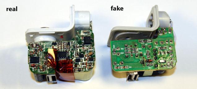 山寨苹果充电器为何不靠谱?