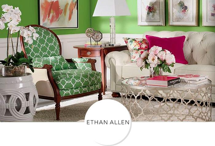 伊森艾伦苏塞特单人沙发椅EA137107